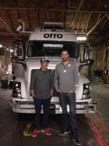 Otto truck Driverless