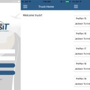 TransIT Truck mobile apps